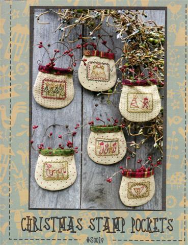 Christmas Stamp Pockets