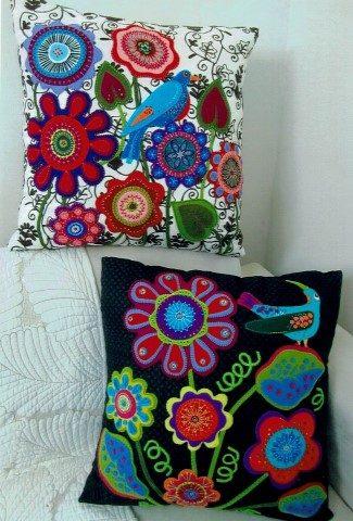 Funky Wool Cushions