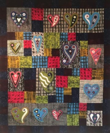 Heartfelt Quilt Kit – Exclusive to Cottage Flair!